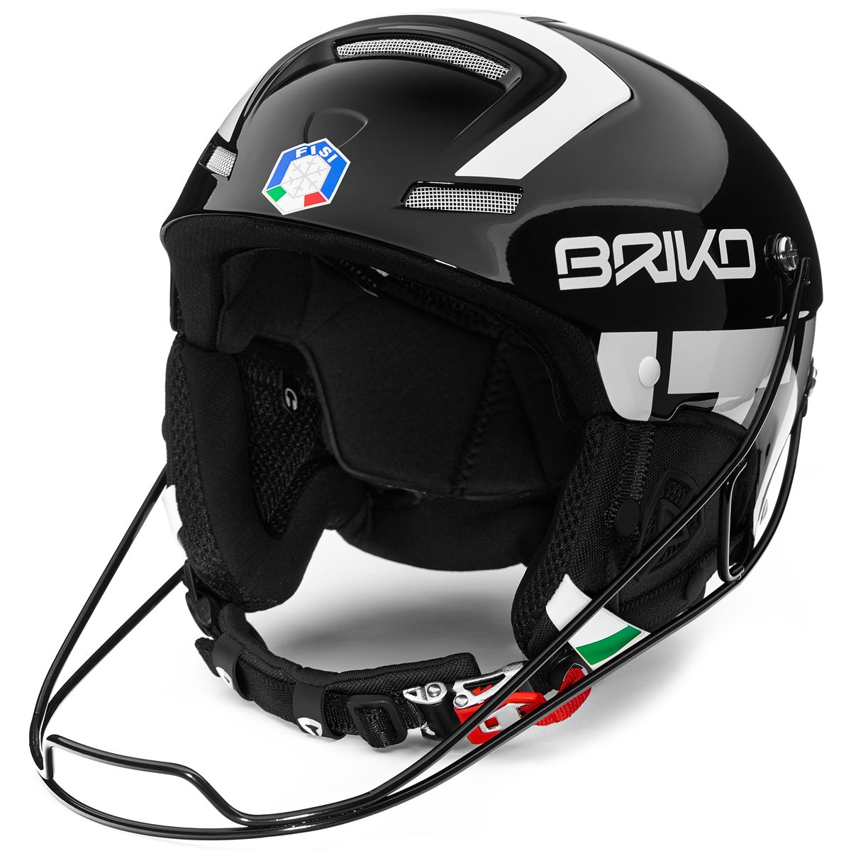 Briko HELMETS SLALOM - FISI Helmet Winter sports National Italy Man Woman