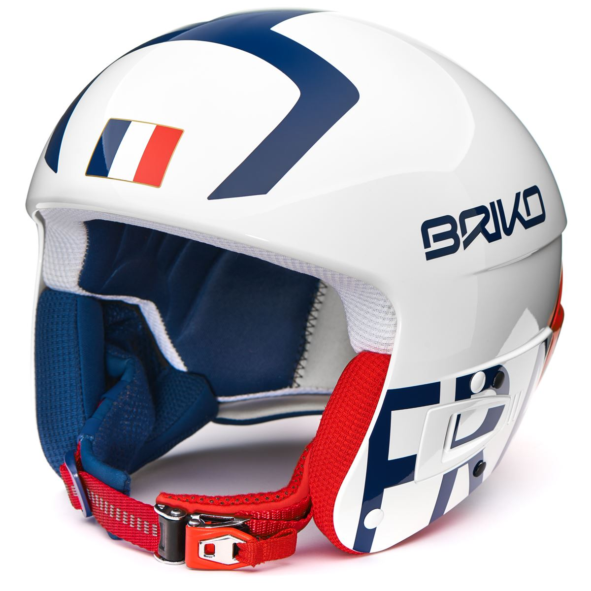 Briko HELMETS VULCANO FIS 6.8 - FRANCE Junior Boy Girl Helmet