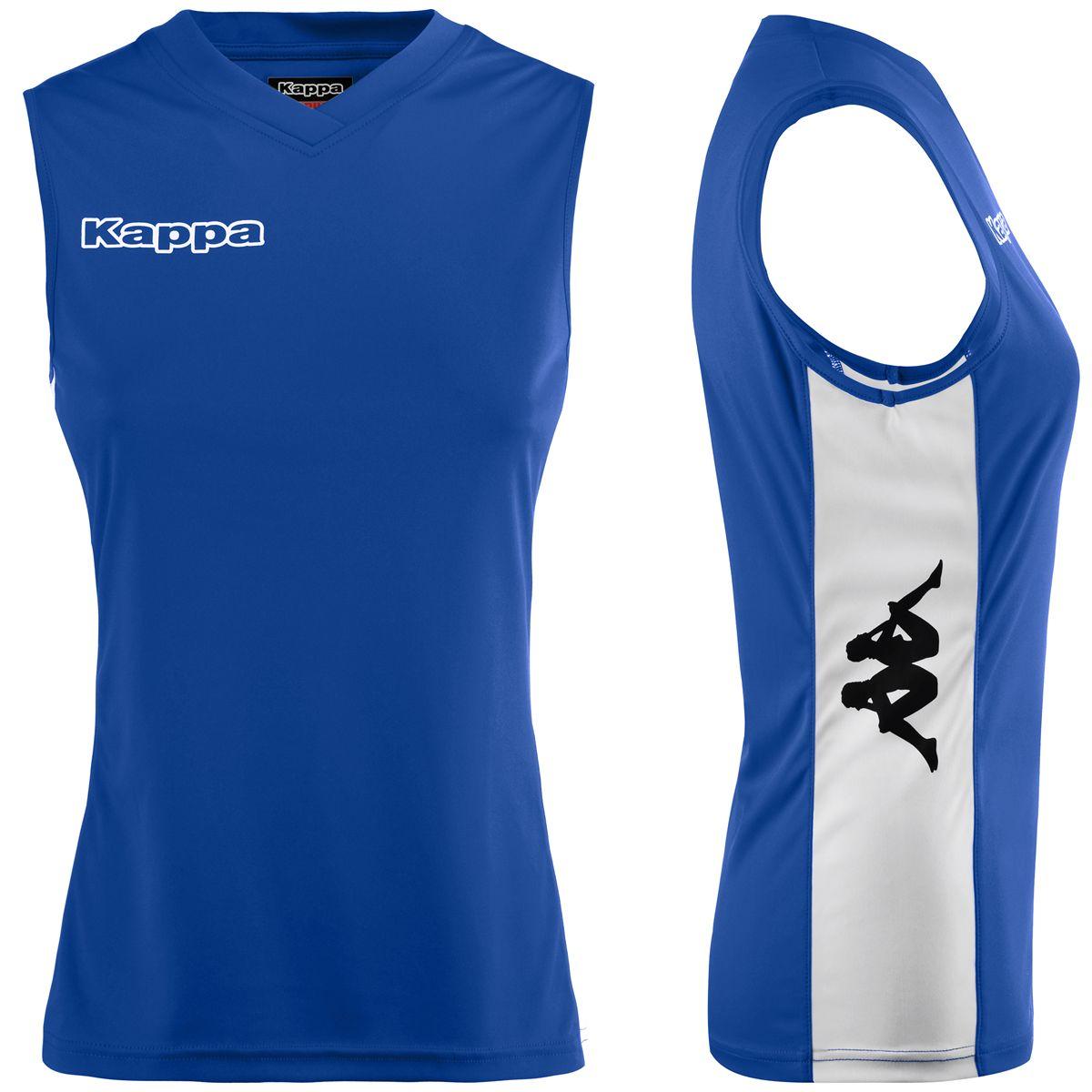 Kappa T-shirt sportiva KAPPA4VOLLEY AMILA Bambina Pallavolo sport Canotta