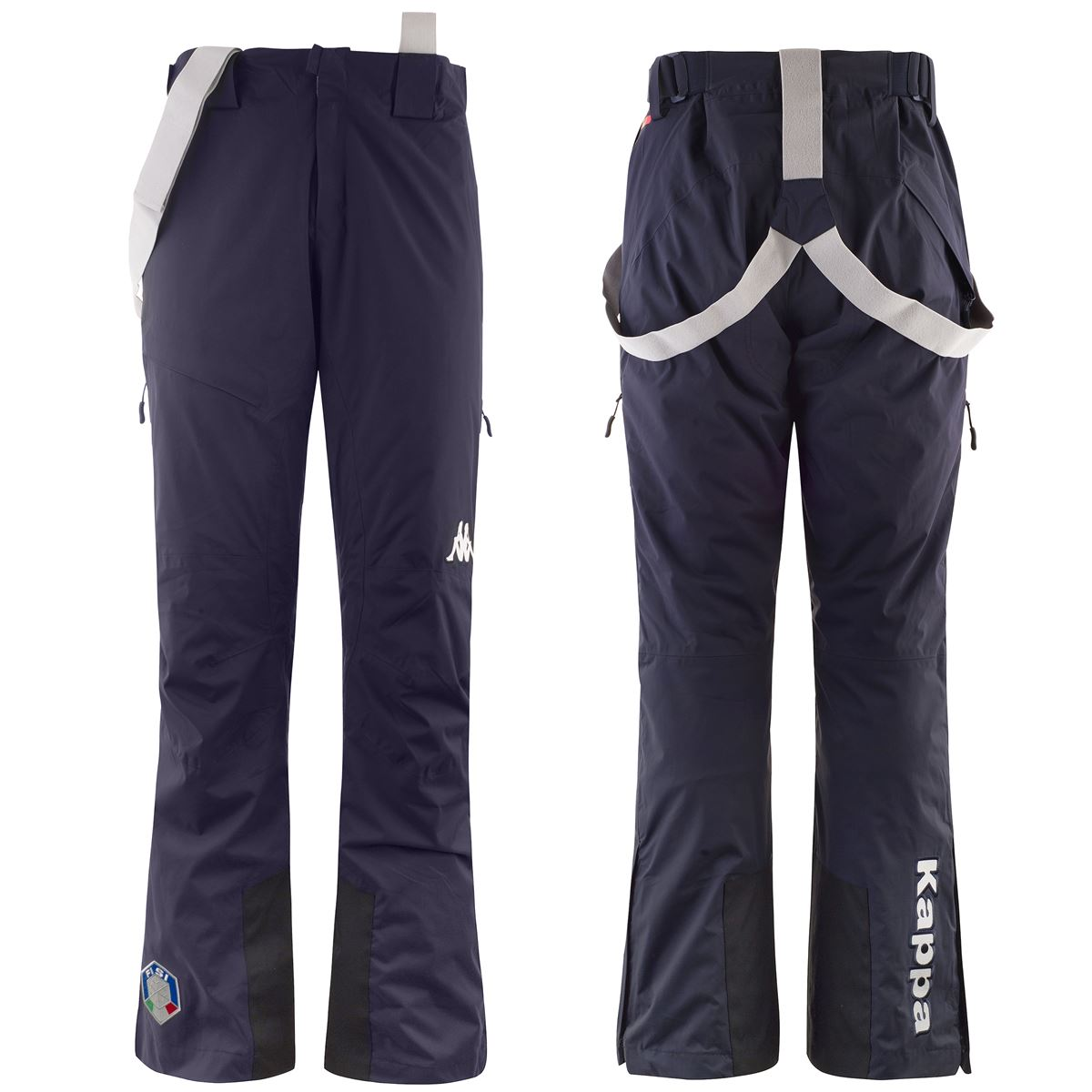 Kappa Pants 6CENTO 622A FISI Man Winter sports National Italy Sport Trousers