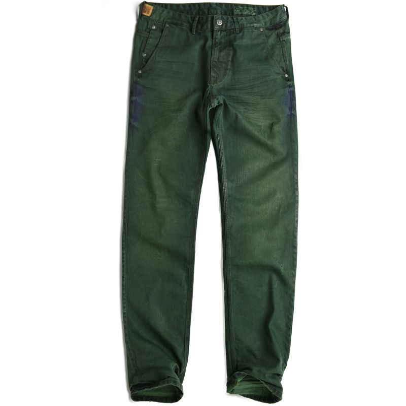 Jesus Jeans Pants 503 OILGREEN Man Woman CHINO