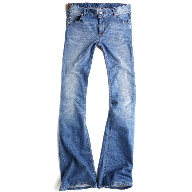 Jesus Jeans Pants 666 SSKY Woman 5 Pockets