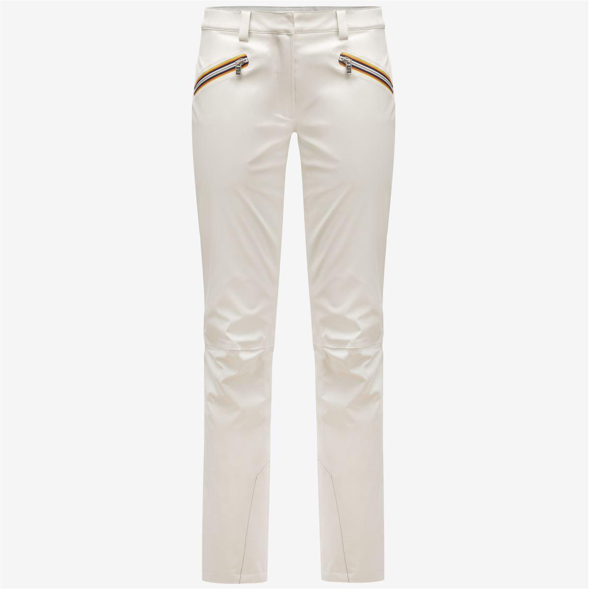 K-Way Pantaloni NINA MICRO TWILL 4 Tasche Donna