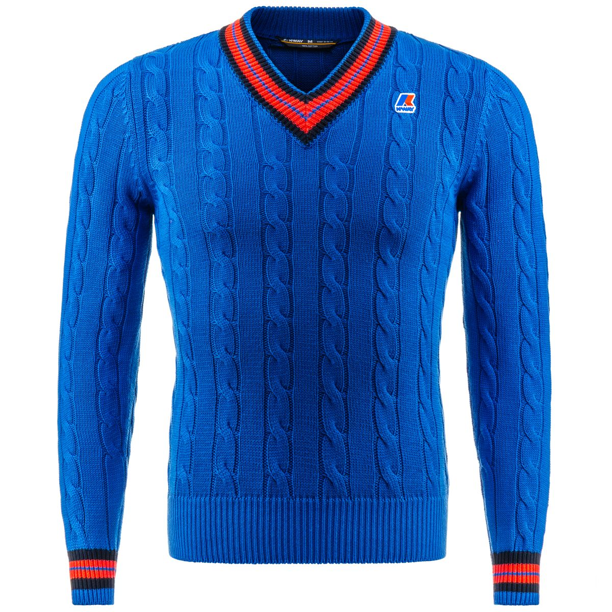 K-Way Knitwear Sweater KENT CABLE PULL OVER Man