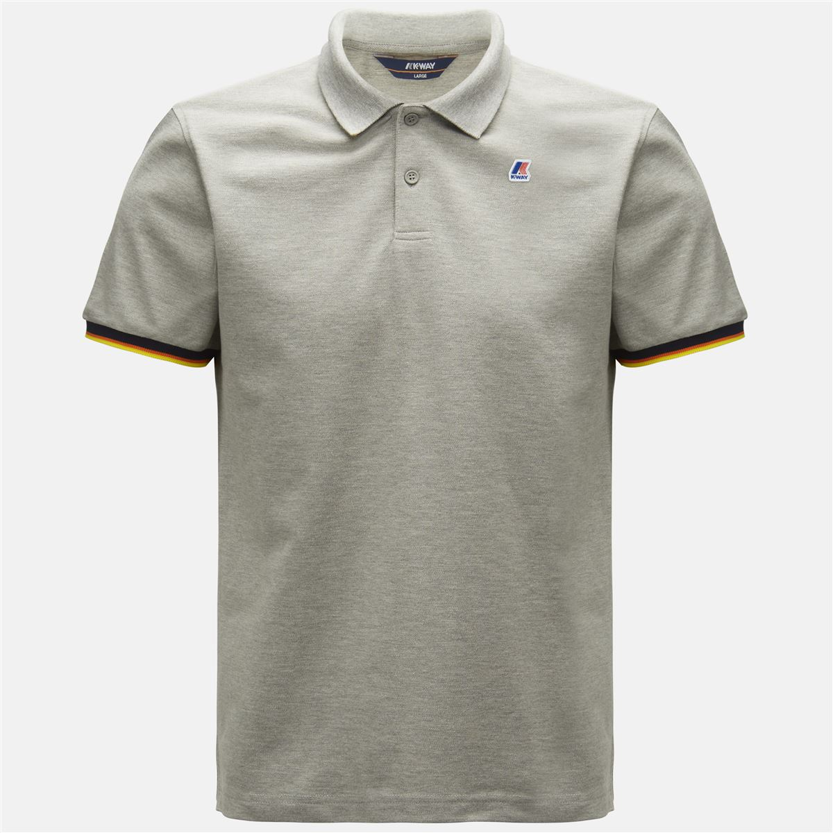 K-Way POLO SHIRTS VINCENT CONTRAST Polo