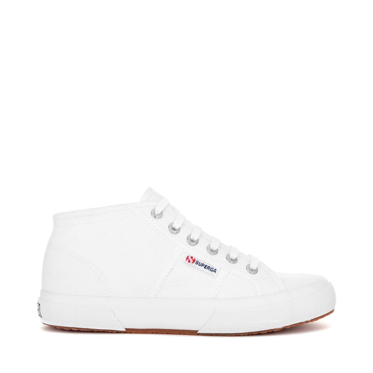 Scarpe-ginnastica-Medio-Superga-Uomo-Donna-White-DD
