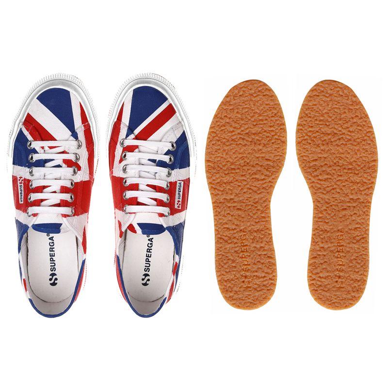 Superga Scarpe ginnastica 2750-COTU FLAG UNITED KINGDOM Uomo Donna Classico