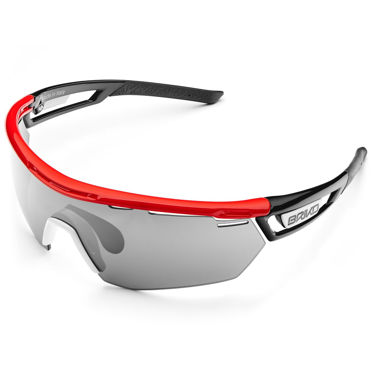 Briko GLASSES CYCLOPE 2 LENSES Man Woman Cycling sport Sunglasses