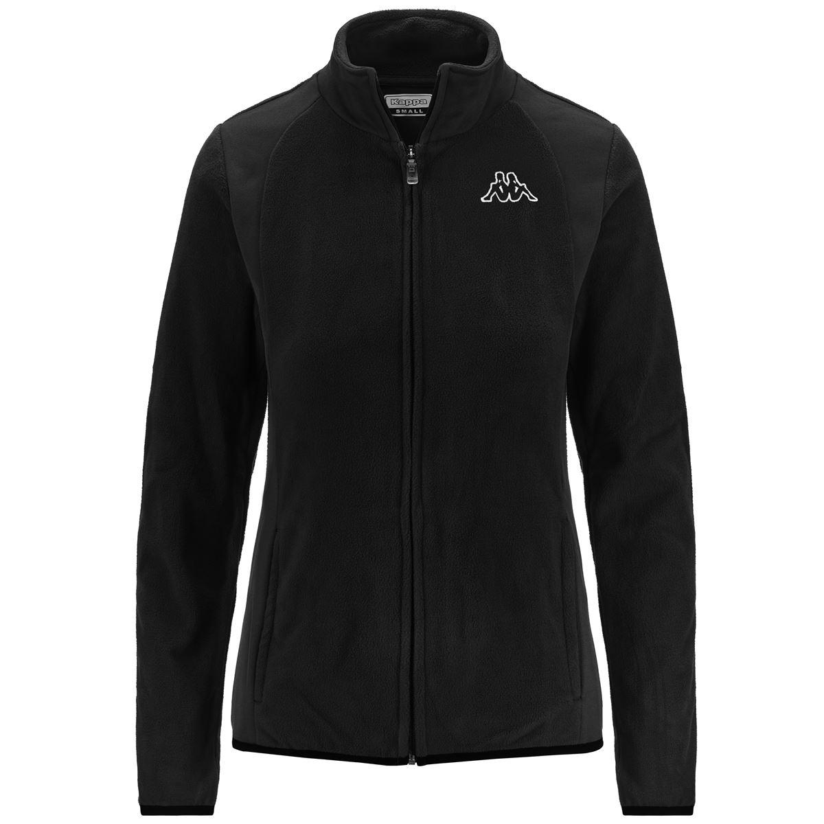 Kappa Fleece Sweater Woman LOGO VAVAUX Training Jacket SLIM FIT