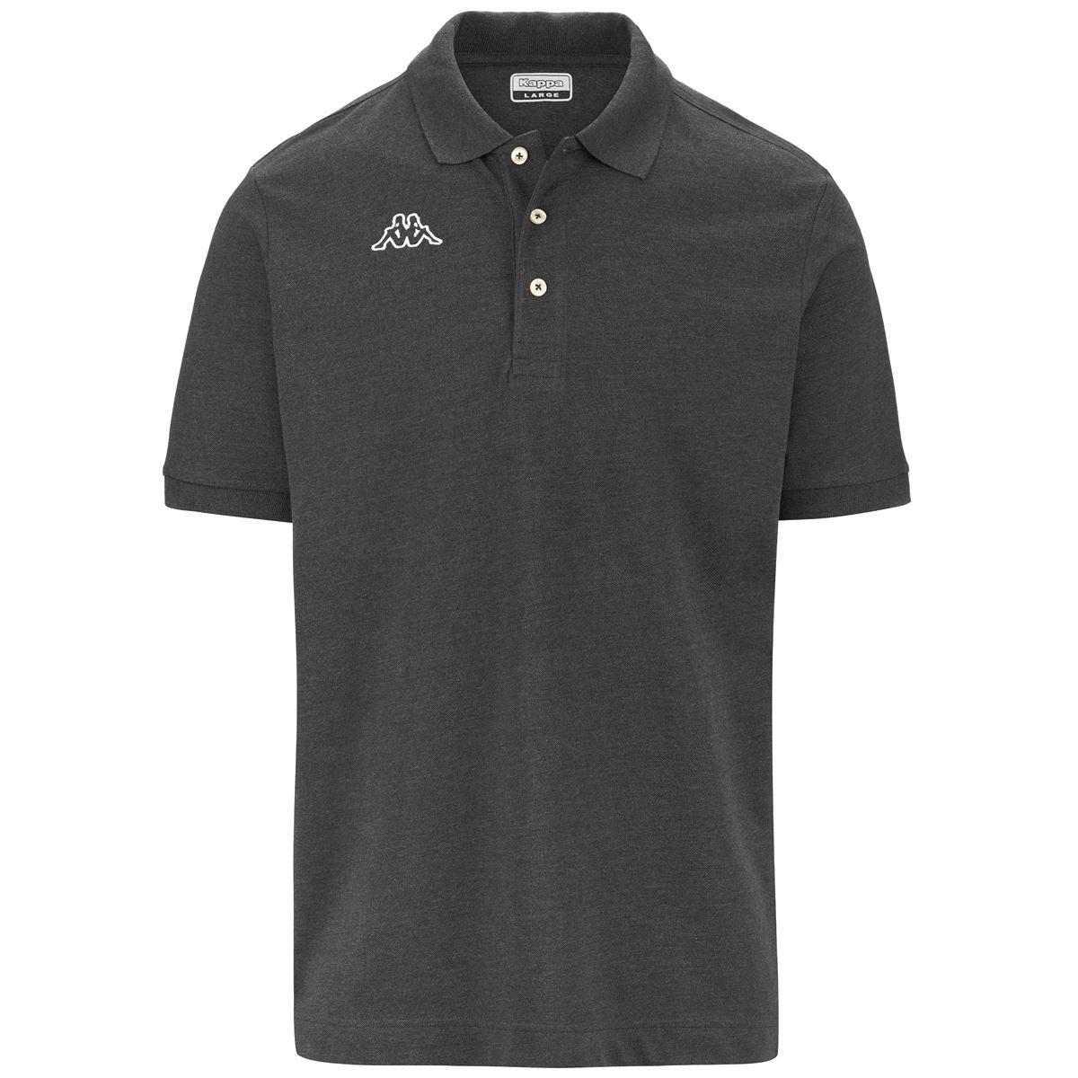Kappa-Polo-Shirts-Uomo-LOGO-LIFE-MSS-Tennis-sport-Polo miniatura 28