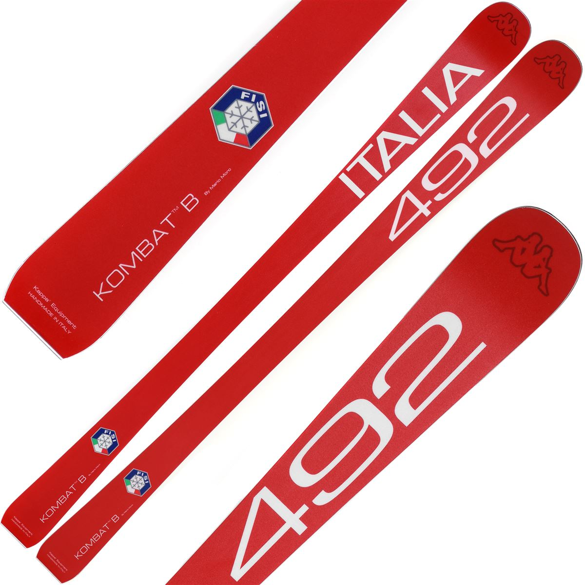 Kappa Ski 4CENTO KOMBAT B 492 FISI Man Woman Winter sports National Italy