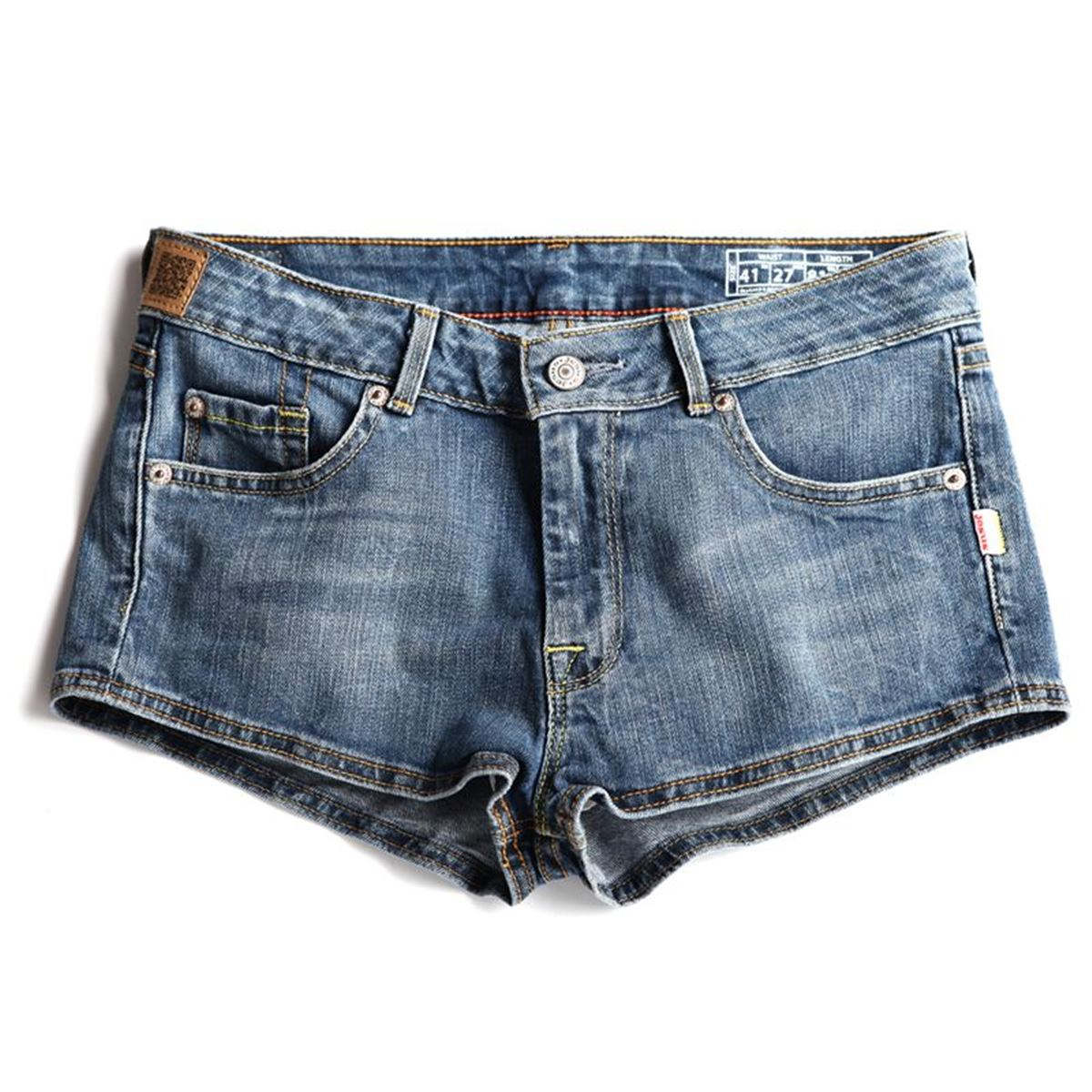 Jesus Jeans 5 Pockets Shorts Denim Woman