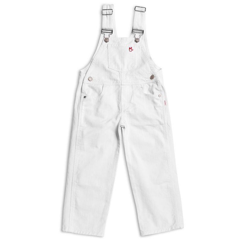 Jesus Jeans Pants 401 WH Overall KID UNISEX