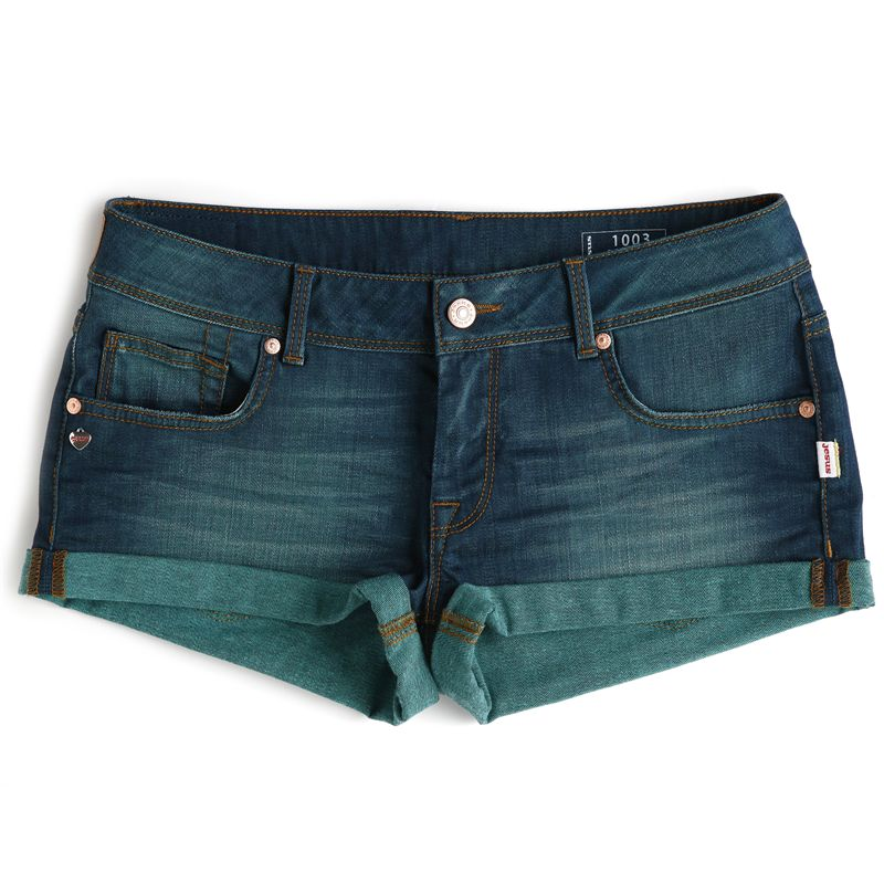 Jesus Jeans Shorts 1003 DESTGREEN Woman 5 Pockets
