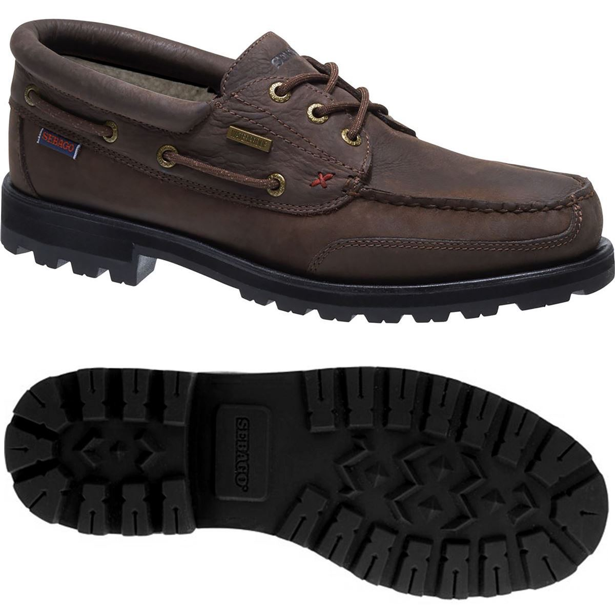 Sebago MOC VERSHIRE THREE EYE FGL WP Man Leisure Moccasin