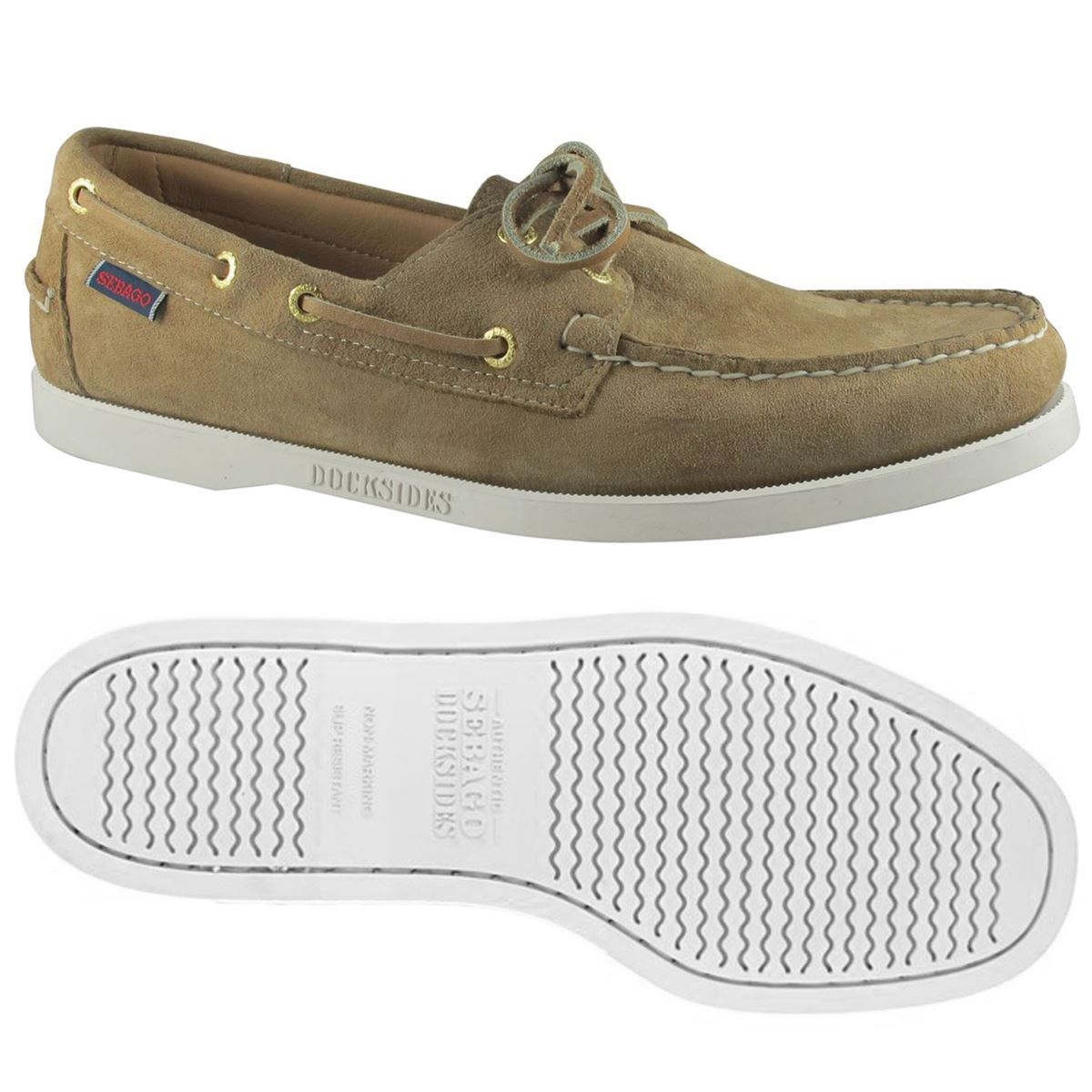 Sebago DOCKSIDES Woman DOCKSIDES SUEDE W Yachting sailing MOCASSIN