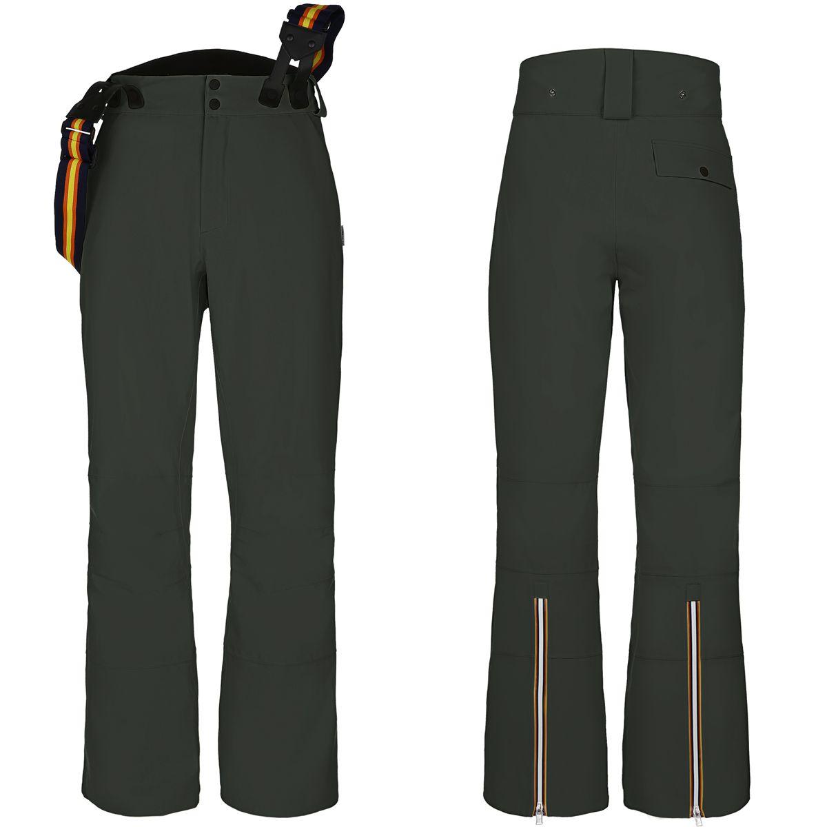K-Way Pantaloni NOE MICRO TWILL Chino senza pince Uomo