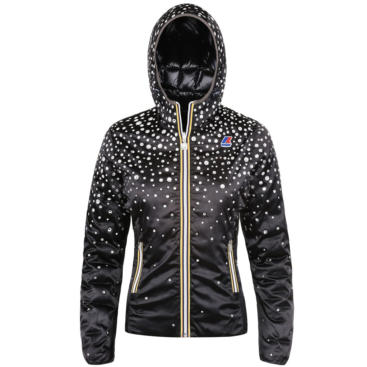 K-Way Jacket LILY SWAROVSKI Short Woman