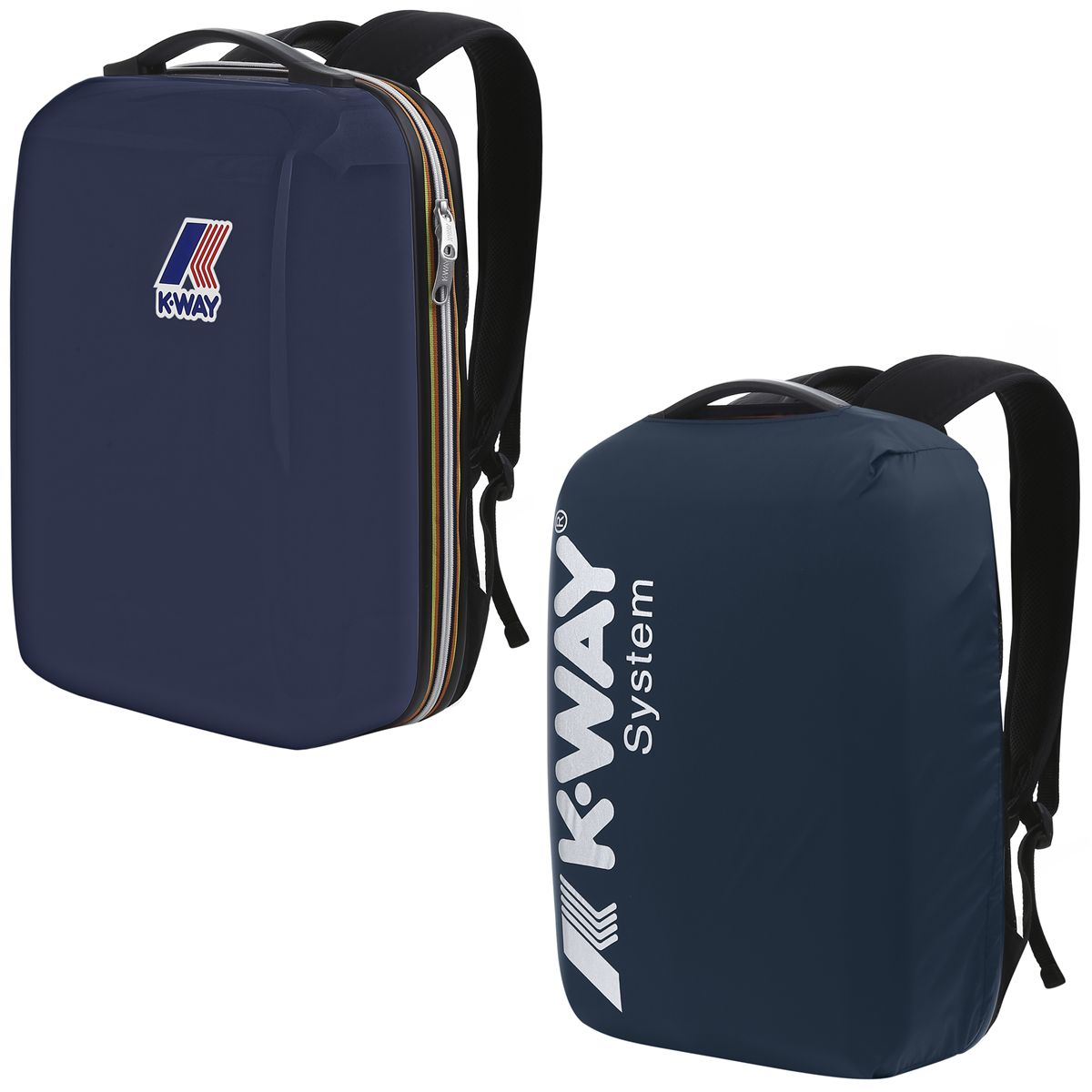 K-Way Luggage travel Bags K-WAY SYSTEM SERGE Man Woman Backpack