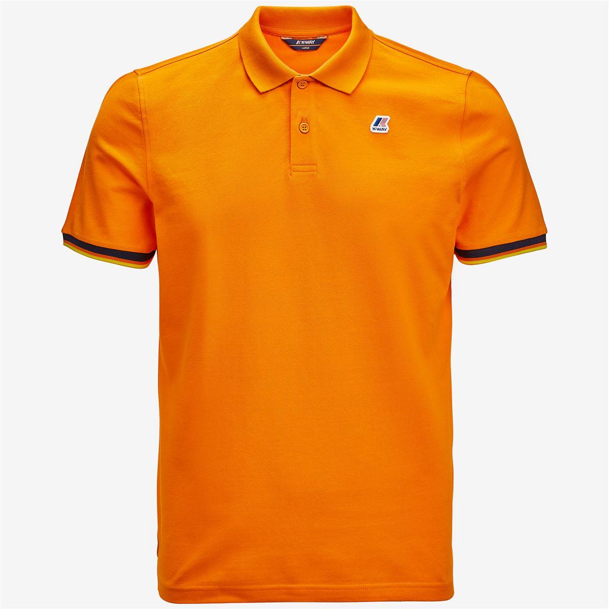 Polo Shirts K-way uomo VINCENT CONTRAST STRETCH-K008J50