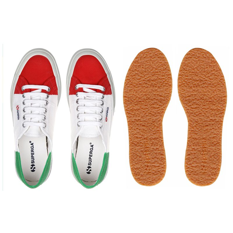 Superga LE SUPERGA 2750-COTU FLAG ITALIA Man Woman Leisure Sneaker