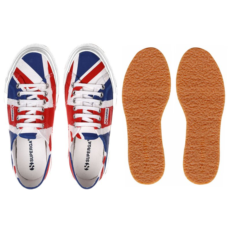 Superga Scarpe ginnastica 2750-COTU FLAG UNITED KINGDOM Uomo Donna Tempo libero