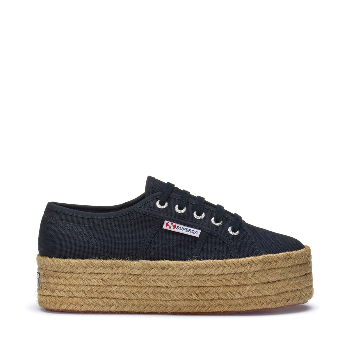 Superga Lady Shoes Woman 2790-COTROPEW CASUAL Wedge