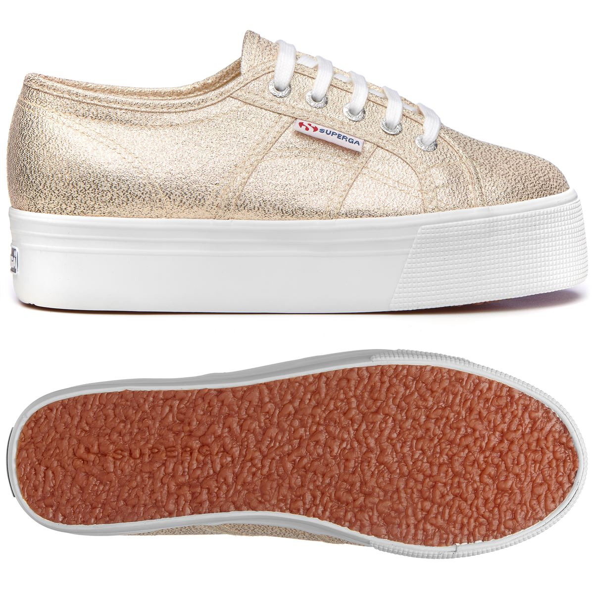Superga Lady Shoes Woman 2790-LAMEW CHIC Wedge