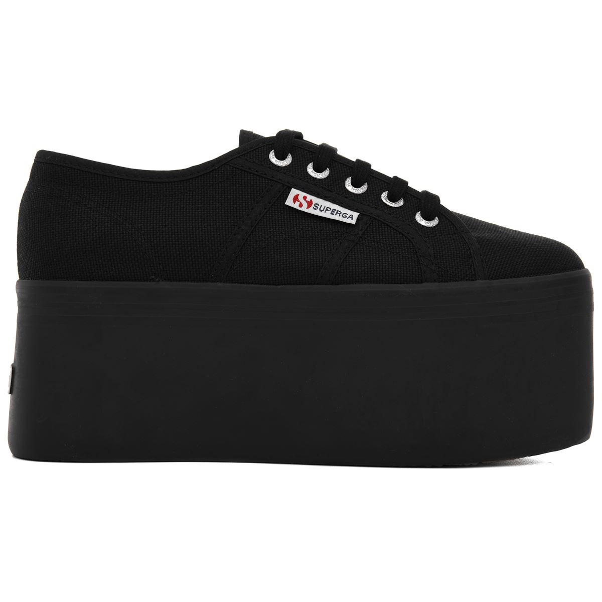 Superga Lady Shoes Woman 2802-COTW Traveling Wedge