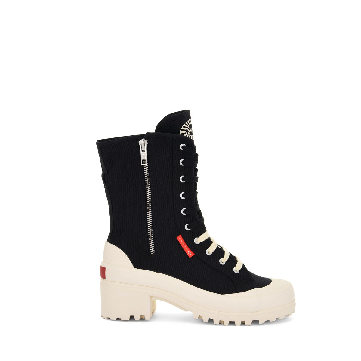 Italian Ankle Boots Superga for woman-S3114HWPUR